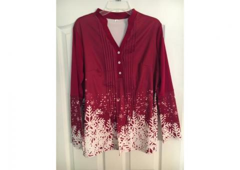 Jackets and holiday blouse