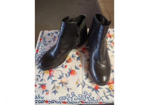 New Leather Ankle Boots
